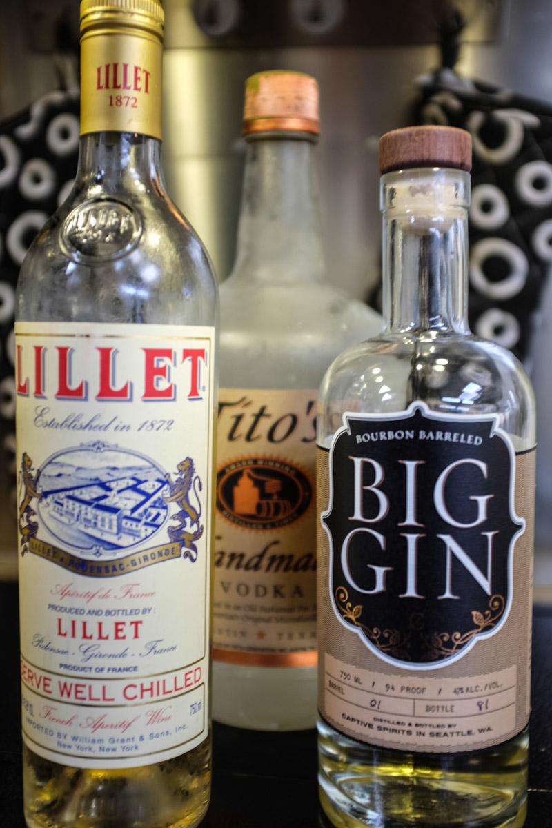 how to make a vesper martini without lillet